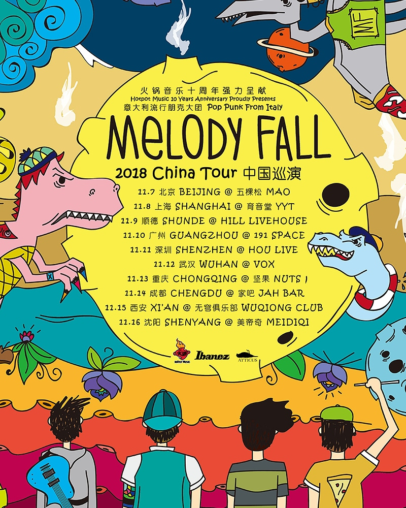 Tour Cinese per i nostri MELODY FALL!!
